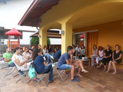 Cena in terrazza | La Coccinella Scs